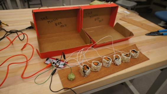 Wired Sushi and Wasabi